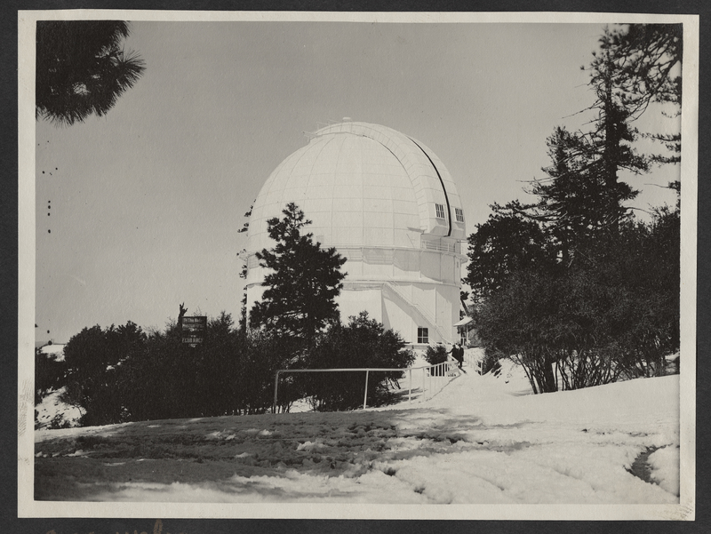 Go to California. Mount Wilson Observatory item page