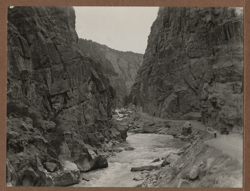 Go to Wyoming. Canyon below Shoshone Dam item page