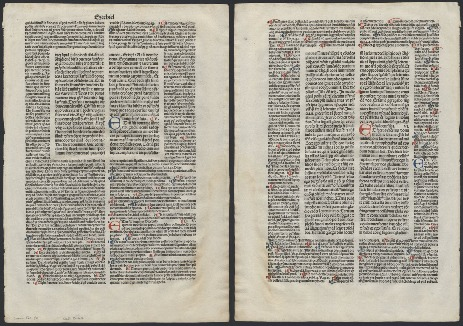 Go to Biblia Latina (Venice) [folium 19] item page