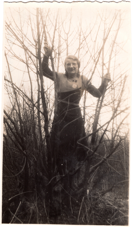 Go to Adriana B. Schuurman in a tree, 1933 item page