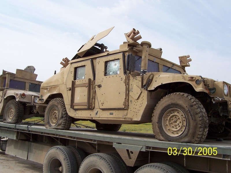 Go to IED damage done to a HUMVEE item page