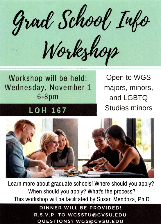 Go to Grad School Info Workshop item page