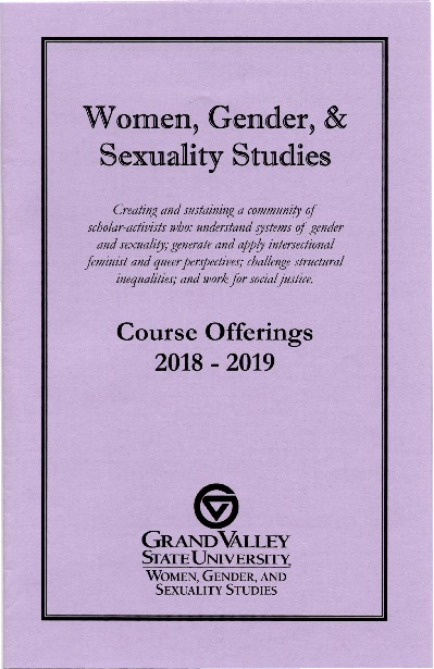 Go to Women, Gender, and Sexuality Studies Course Offerings 2018-2019 item page