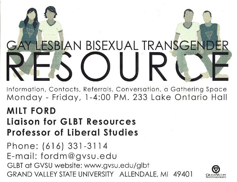 Gay Lesbian Bisexual Transgender Resource