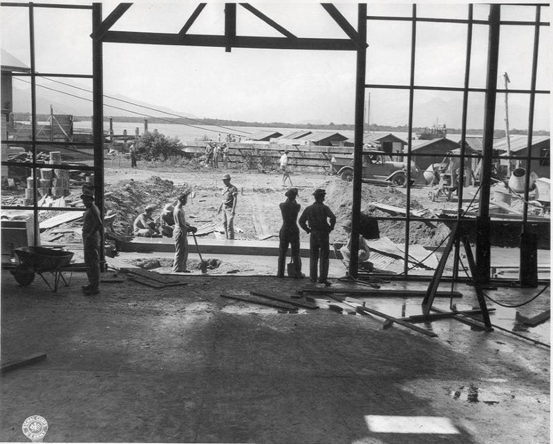 Assembly plant for Landing Craft Vehicle/Personnel (LCVP) in Cairns, Queensland Australia