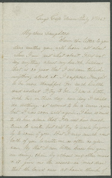 Go to John Bennitt to his wife [Letter 078] item page