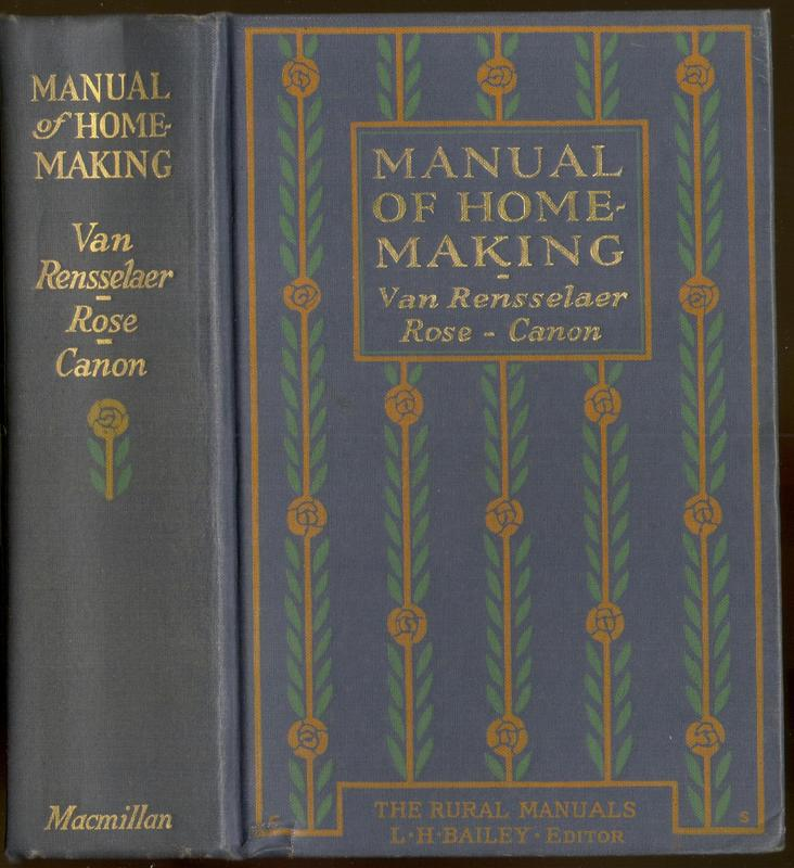 Go to Manual of Home-Making item page