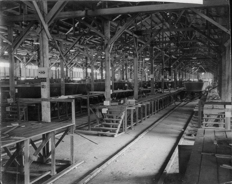 Assembly plant for Landing Craft Vehicle/Personnel (LCVP) in Cairns, Queensland Australia.