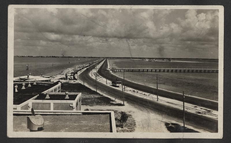 Go to Florida. Causeway Miami Beach Florida, 1921 item page