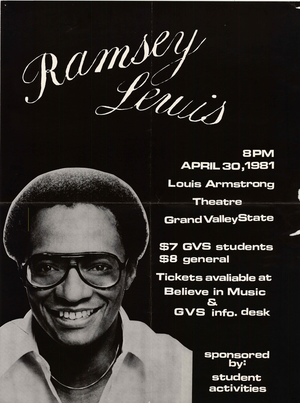 Go to Ramsey Lewis, April 30, 1981 item page