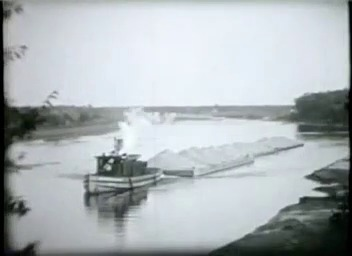 Go to Michigan. Hauling Gravel on the Grand River, 1930s item page
