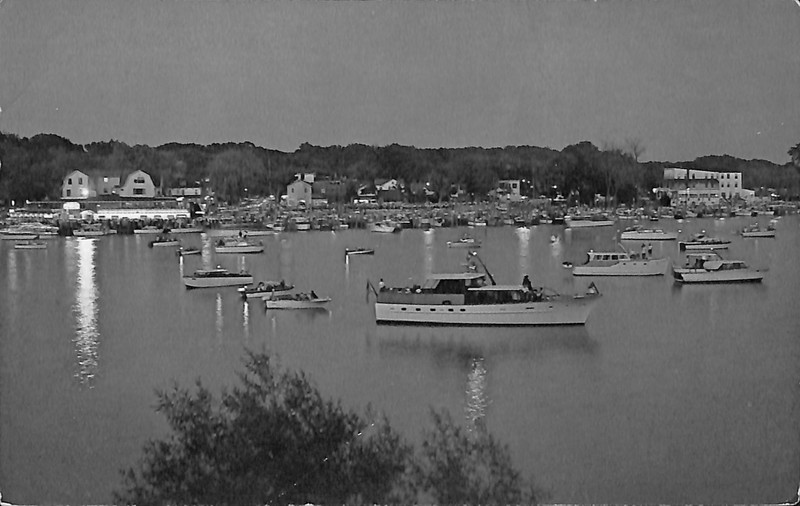 Go to Boats on Lake Kalamazoo postcard item page