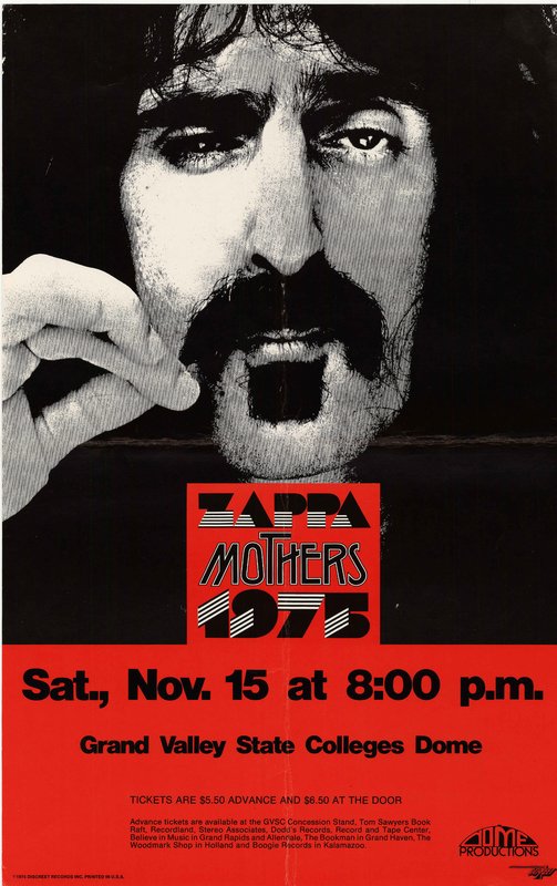 Go to Frank Zappa and the Mothers of Invention, November 15, 1975 item page