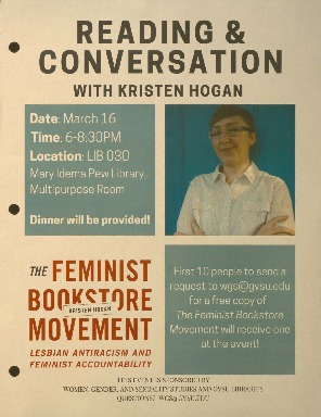 Go to Reading & Conversation with Kristen Hogan item page