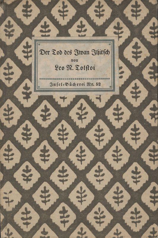 Go to Der Tod des Iwan Iljitsch: Erzählung item page