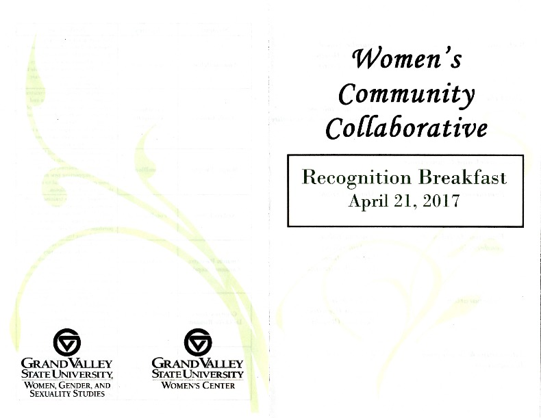 Go to Women's Community Collaborative: Recognition Breakfast item page