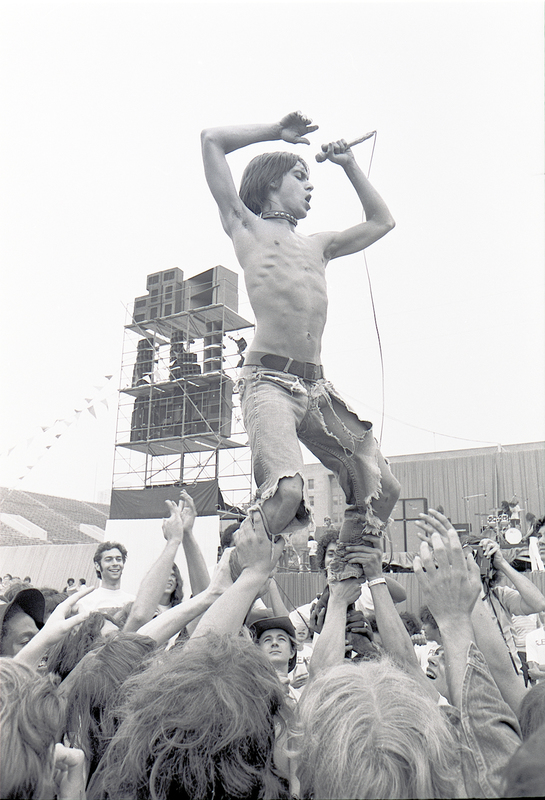 Go to Iggy Pop of The Stooges item page