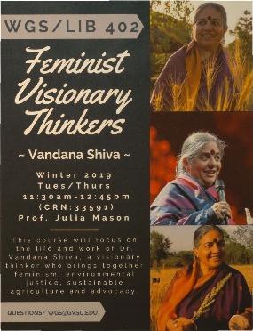 Go to Feminist Visionary Thinkers: Vandana Shiva item page