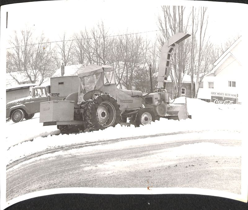 Go to Tractor Snow Plow Cleaning up Snow item page