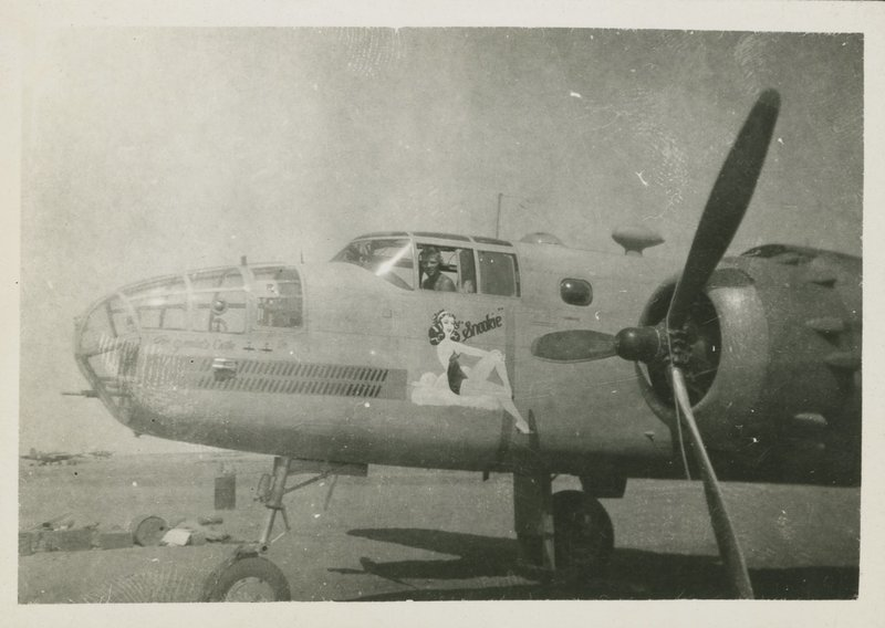"Go to B-25 C Mitchell Nose Art, ""Snookie"" item page"