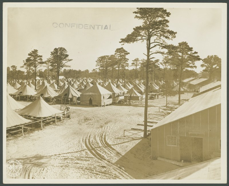 Go to Barracks and tents at Camp Edwards item page
