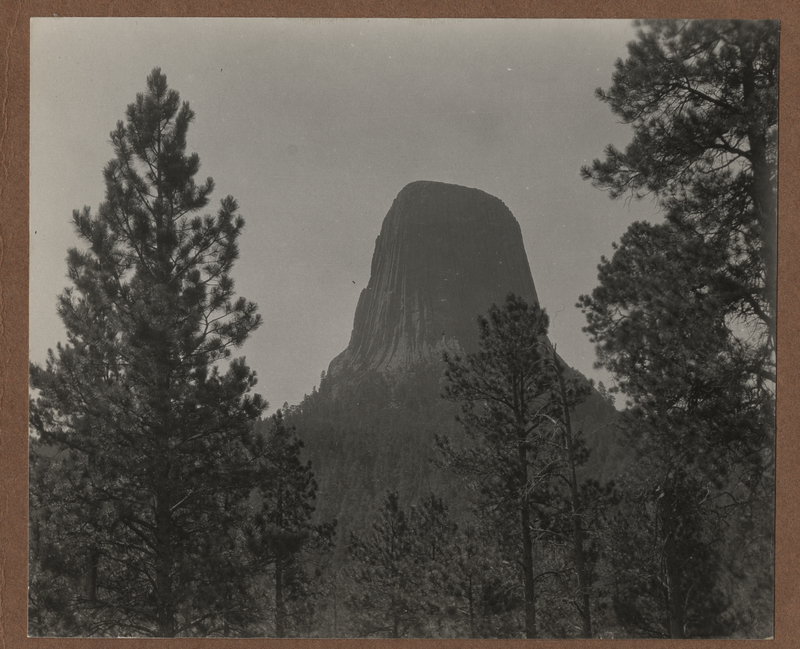 Go to Wyoming. Devil's Tower item page