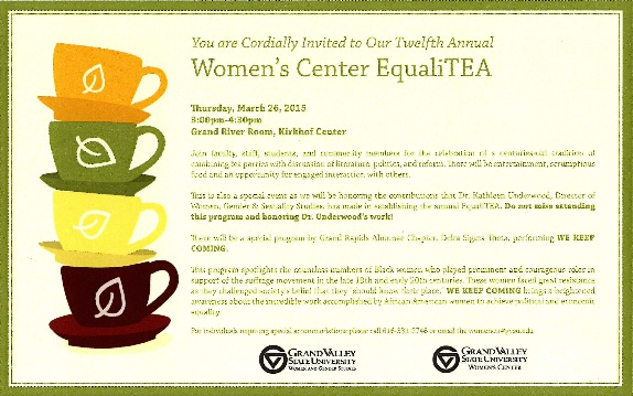 Go to Women's Center EqualiTEA item page