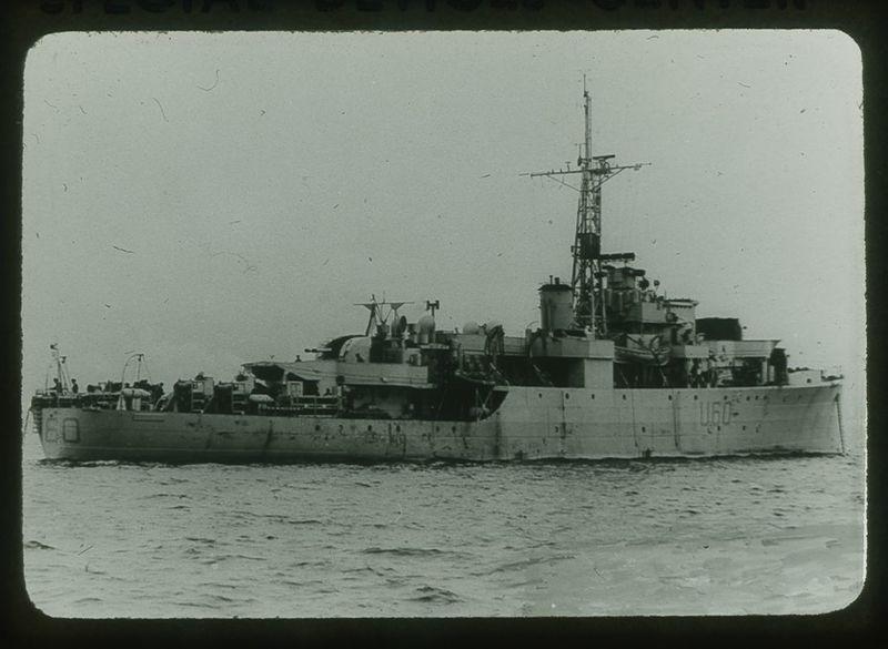 "Go to Alacrity British patrol vessel modified ""Black Swan"" class item page"