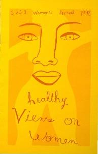 Go to GVSU Women's Festival 1998: Healthy Views on Women item page