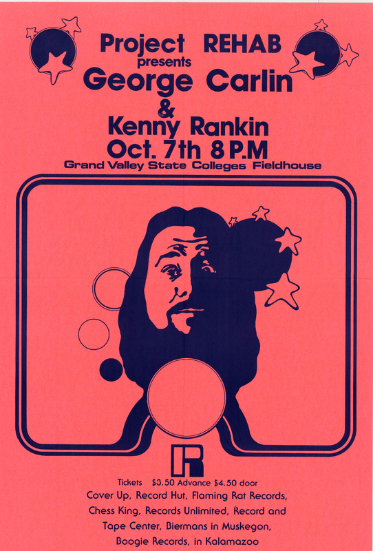 George Carlin and Kenny Rankin, October 7, 1973