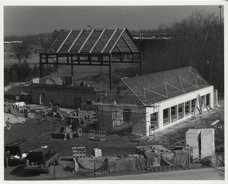 Cook-DeWitt Center. Building construction