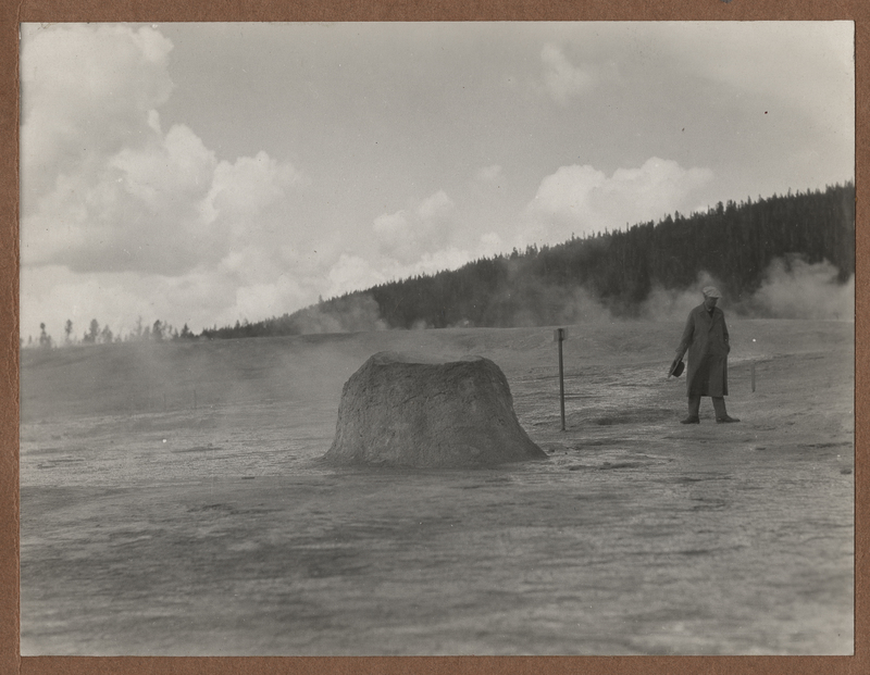 Go to Wyoming. Small geyser cone at Yellowstone item page