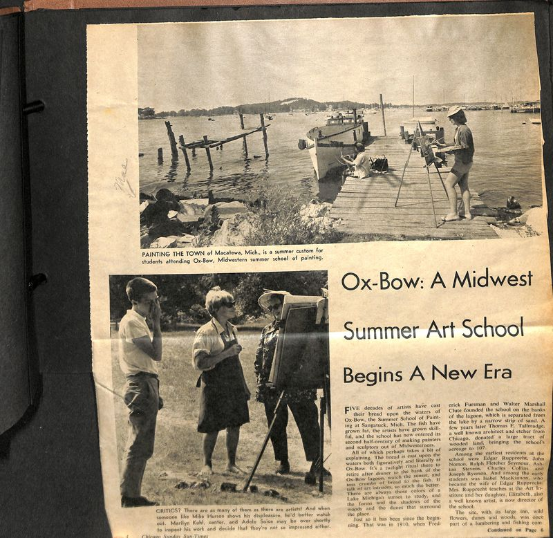 Go to Ox-Bow: A Midwest Summer Art School item page