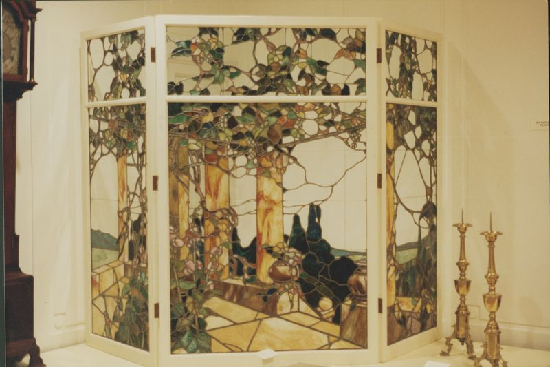 Go to Stained glass window designed by Mathias Alten for his home in Grand Rapids item page