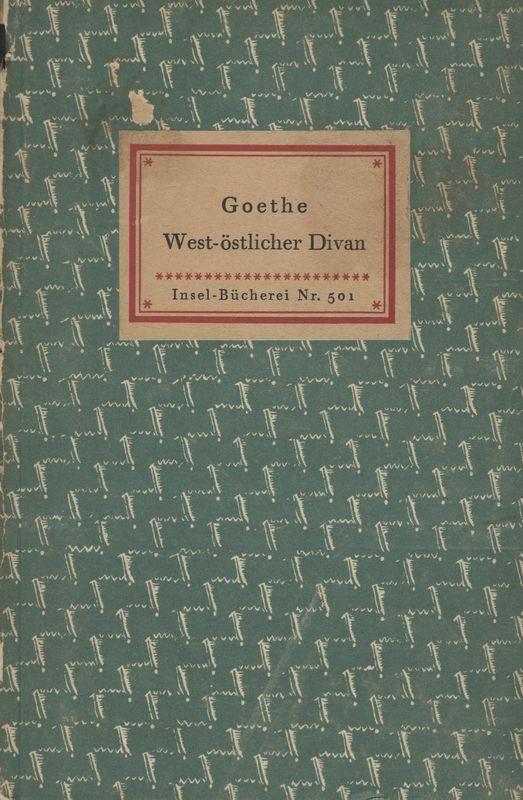 Go to West-östlicher Divan item page