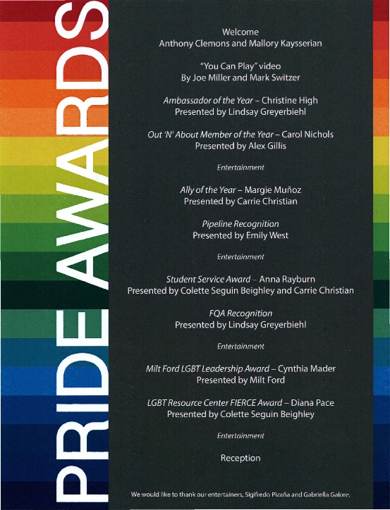 Go to 2013 Pride Awards Flyer  item page