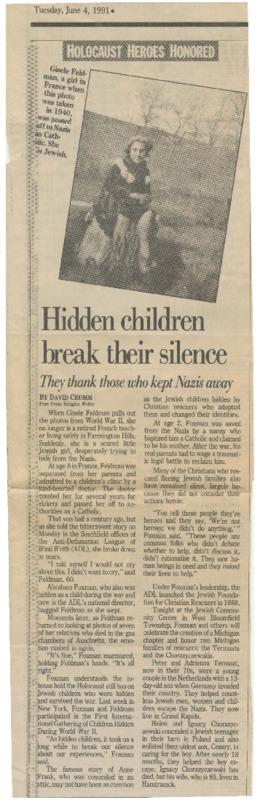 Go to Hidden children break their silence item page