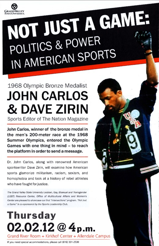 Go to Not Just a Game: Politics & Power in American Sports item page
