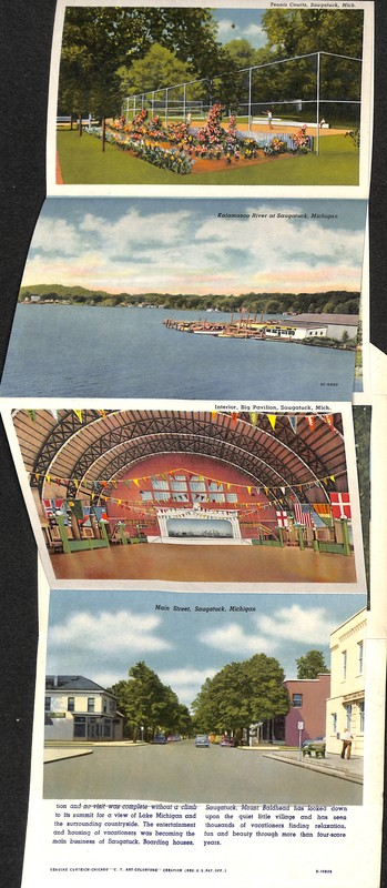 Go to Scenes of Saugatuck Postcard Series item page