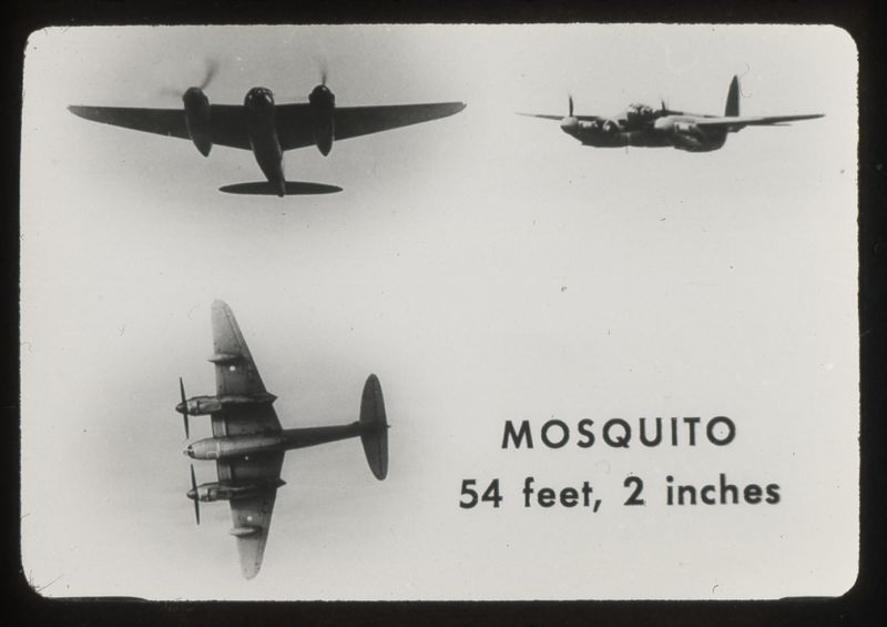 Go to Mosquito British combat aircraft item page