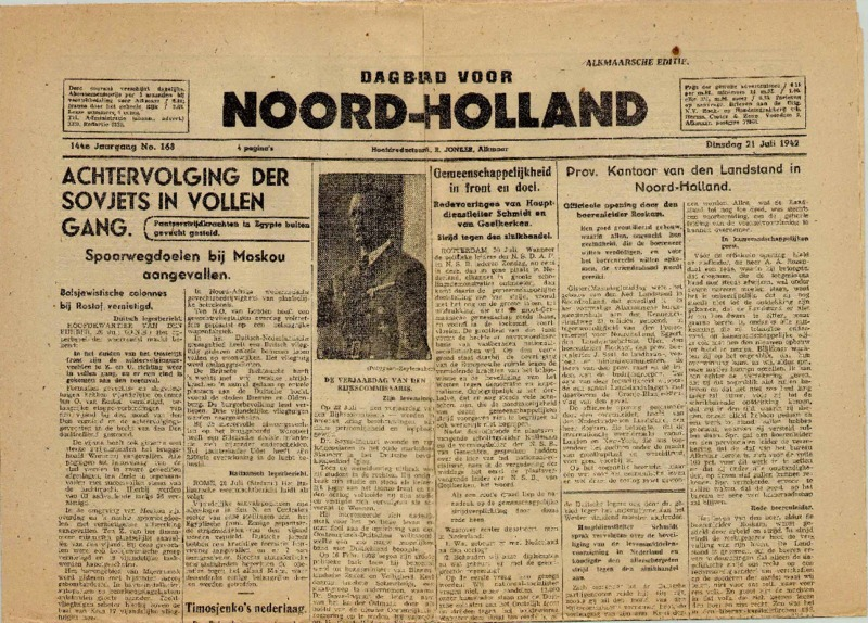 Go to Daglad voor Noord-Holland item page