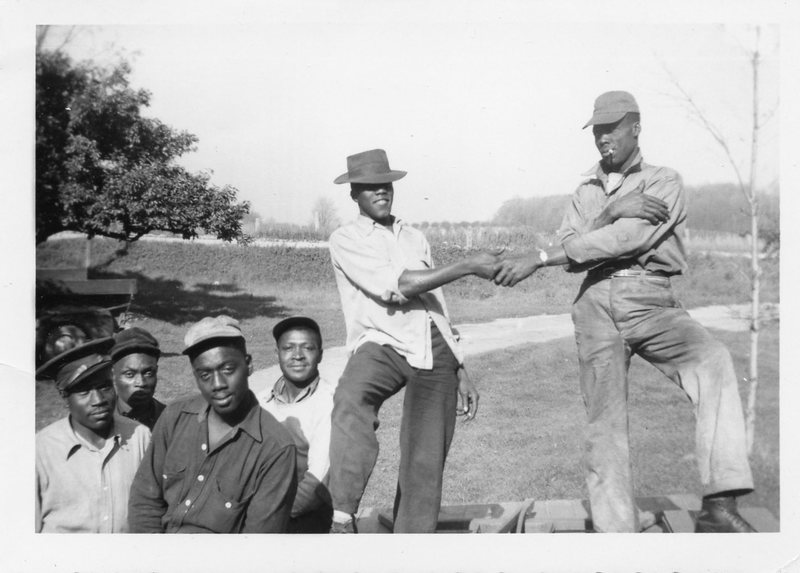 Go to Jamaican field workers, circa 1950 item page