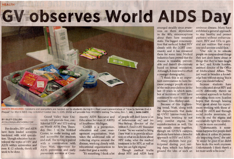 Go to GV observes World AIDS Day item page