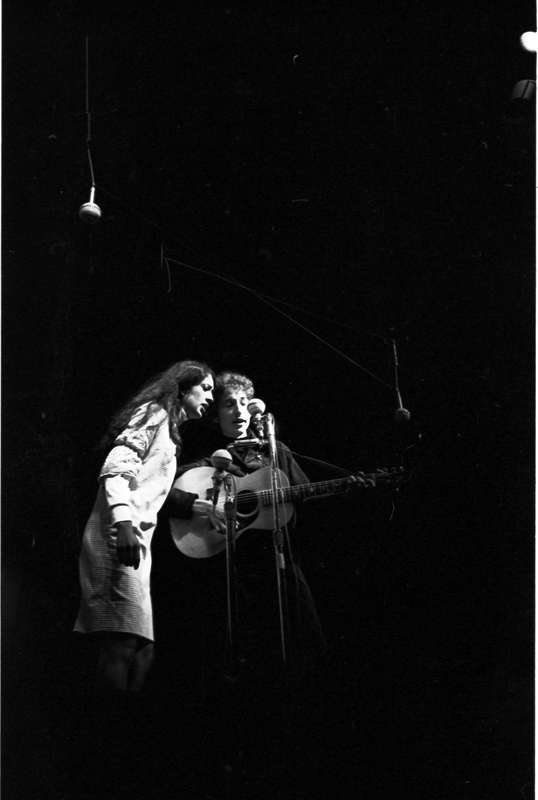 Go to Bob Dylan and Joan Baez performing at Newport Folk Festival item page