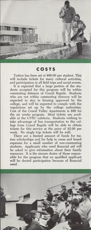 Go to Honors Institute for Young Scholars brochure cost description and photographs item page