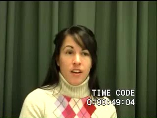 Go to DeRoo, Autumn (Interview transcript and video), 2009 item page