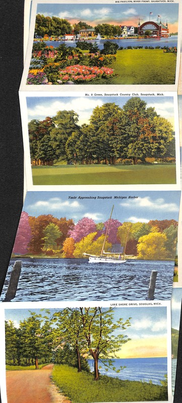 Go to Outdoor scenes of Saugatuck Postcard Series item page