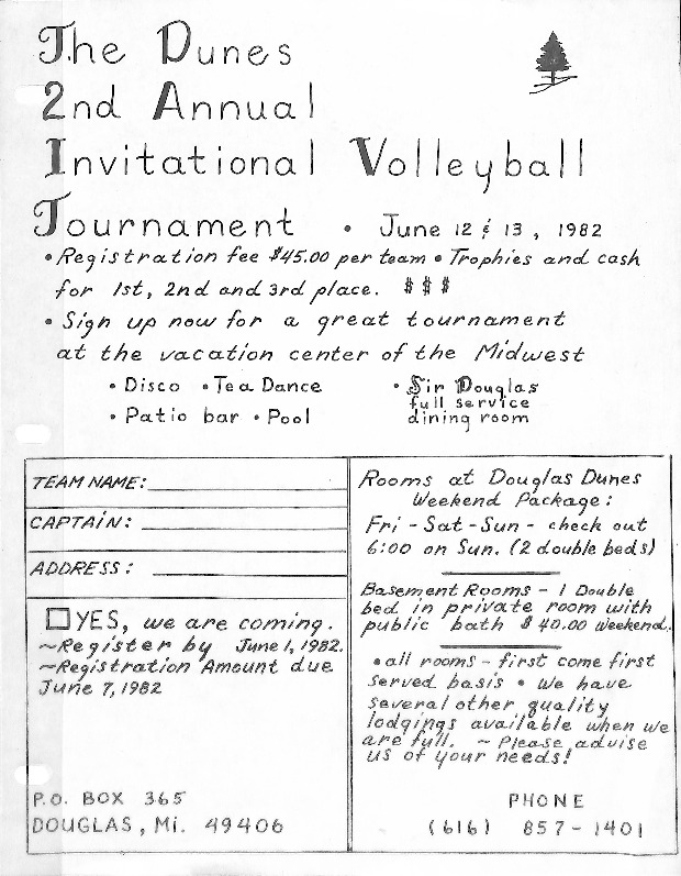 Go to The Dunes Volleyball Tournament item page