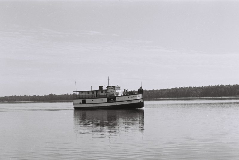Go to Michigan. North Shore ferry on Beaver Island item page