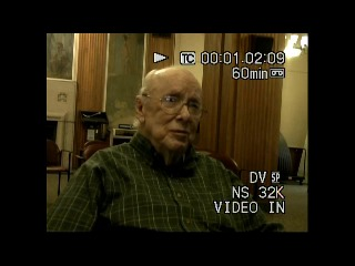 Go to Warren, Jerome (Interview outline and video), 2017 item page